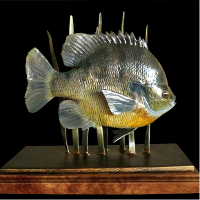 bluegill sculptures