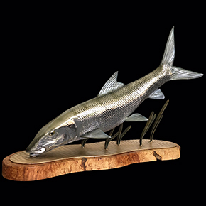 bonefish sculptures
